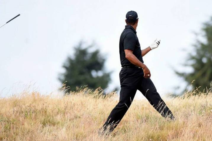 El video del peor golpe de Tiger Woods (Foto: AFP/ VANGUARDIA LIBERAL)