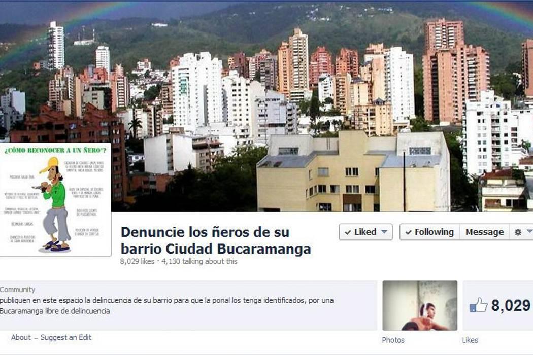 """""""Denuncie a los ñeros"""", polémica página contra la delincuencia en Bucaramanga"""