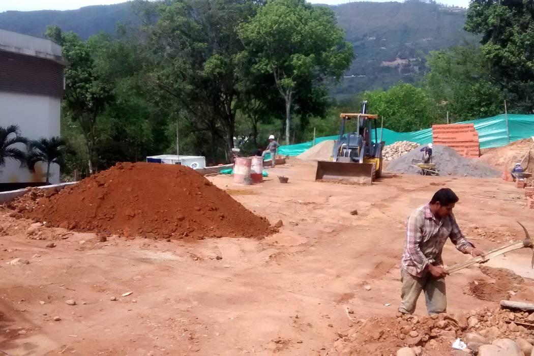 Polideportivo en Ciudadela Comfenalco de Girón quedará terminado este mes