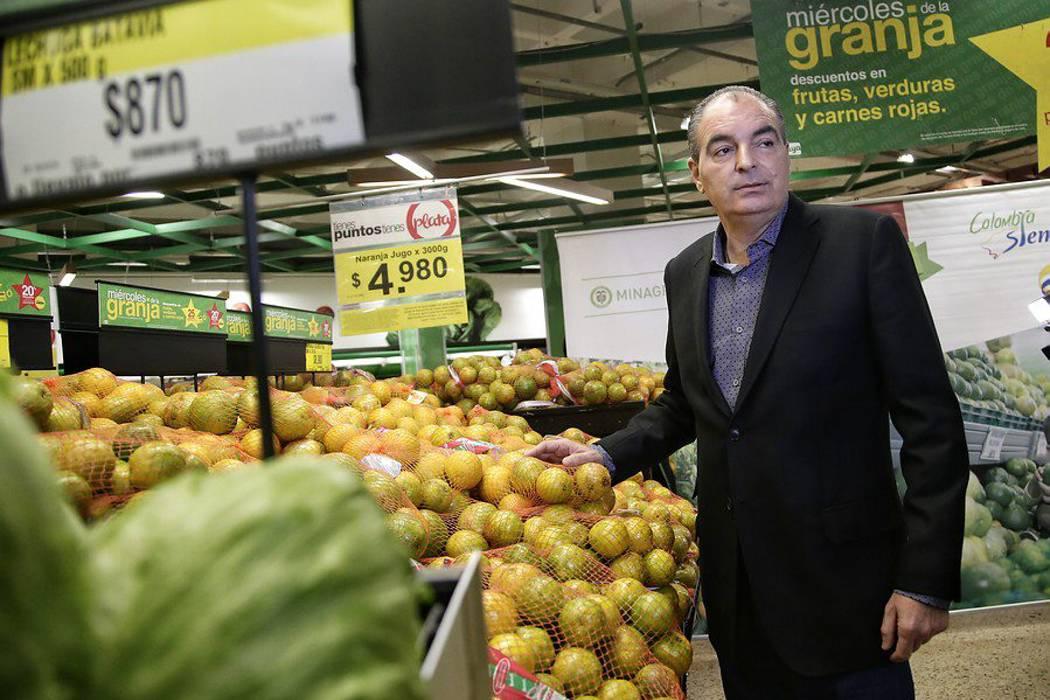 Minagricultura congela precios de alimentos durante la temporada de decembrina