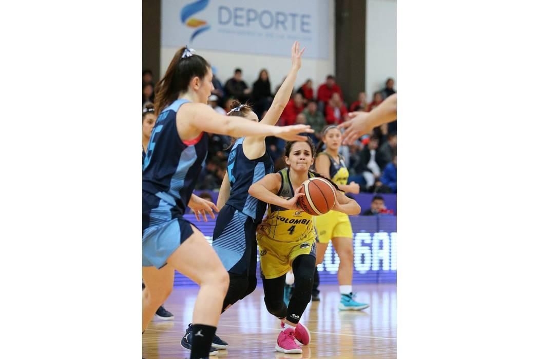 Dayana Fuentes, la representante de Santander en la selección Colombia