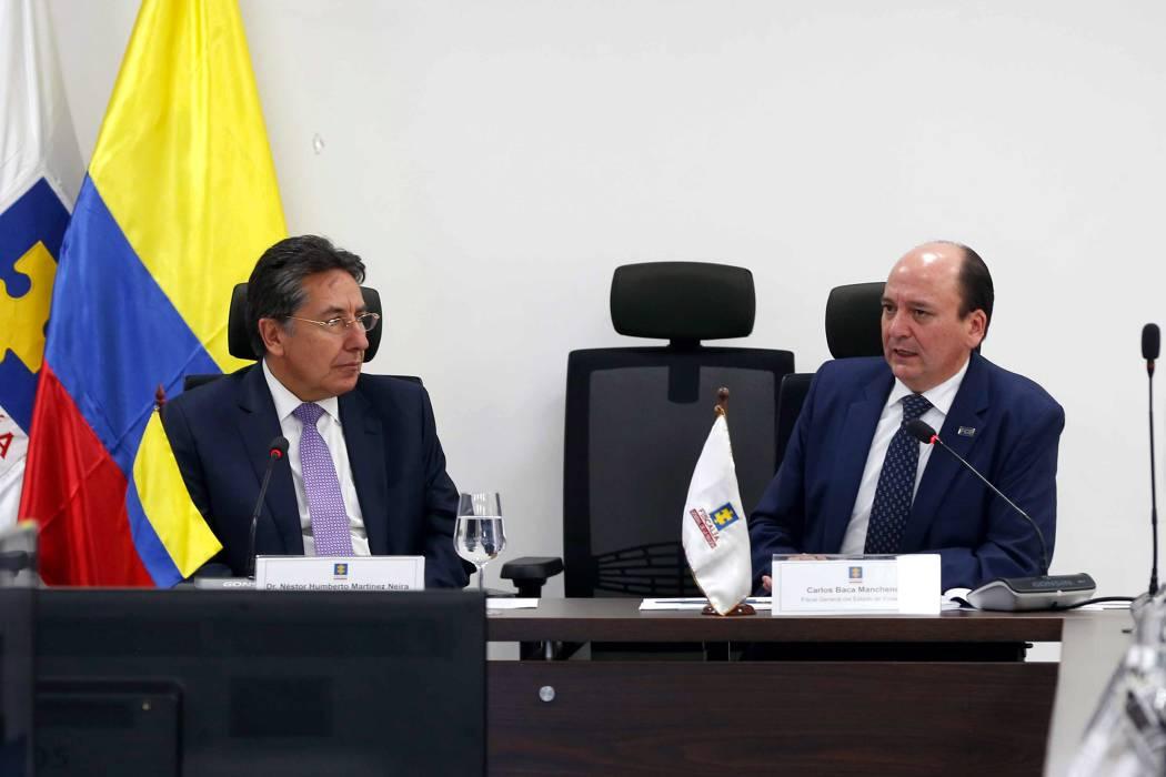 """Fiscales de Colombia y Ecuador crean un """"frente común"""" para combatir delitos trasnacionales"""