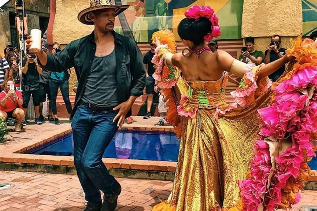 Colombia se robó el corazón de Will Smith y agradeció a los cartageneros