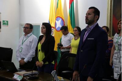 Suministrada, Concejo de Bucaramanga. / VANGUARDIA LIBERAL.