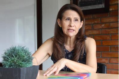 Claudia Lucía Salazar Jaimes, rectora del Instituto Caldas. / Foto UNAB.