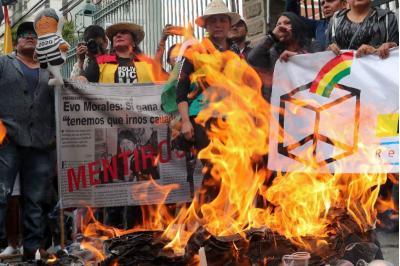 Autorizan inscripción de Evo Morales a elecciones presidenciales: así reaccionaron los bolivianos
