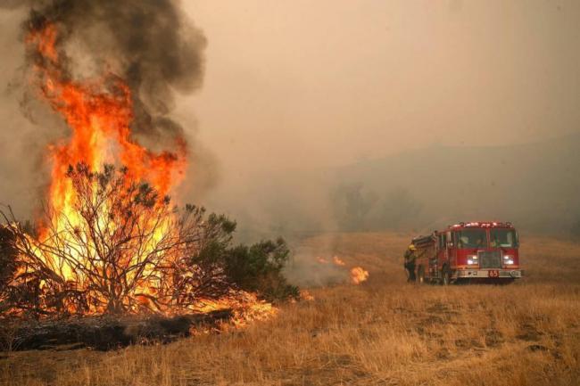 En imágenes, el desastre en California tras incendios forestales