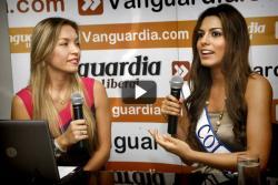 Señorita Colombia habló con los usuarios de Vanguardia.com