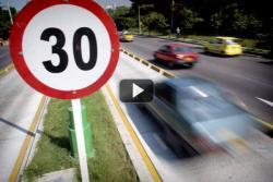 ¿Qué dijo el Director de Tránsito sobre los límites de velocidad en Bucaramanga?