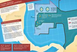 Este es el nuevo mapa limítrofe marítimo entre Colombia y Nicaragua