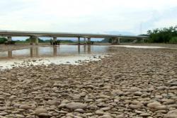 Denuncian que el río Sogamoso se secó tras llenado de Hidrosogamoso