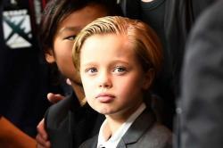 Aunque más varonil, la hija de Angelina Jolie luce muy parecida a su madre