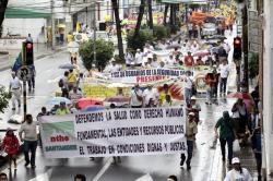 Las mejores imágenes del Día del Trabajo en Bucaramanga