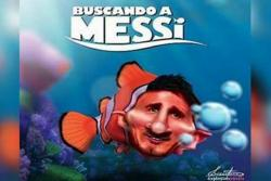 Con memes se burlan de la derrota de Argentina en la Copa y el adiós de Messi