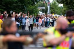 Imágenes del tiroteo en Múnich