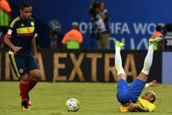 Las mejores imágenes del partido entre Colombia y Brasil