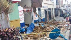 Imágenes de tres viviendas afectadas por lluvias en Bucaramanga