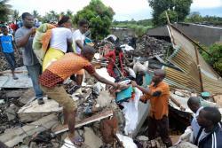 Murieron 17 personas sepultadas por alud de basura en Mozambique