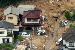 Decenas de muertos y desaparecidos por lluvias torrenciales en Japón