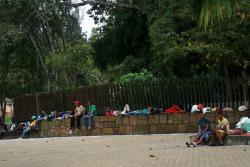Cientos de venezolanos llegan a Bucaramanga tras huir del vecino país sumido en crisis una económica y social. Los migrantes buscan un sustento diario para sí mismos y para los familaires que dejaron.