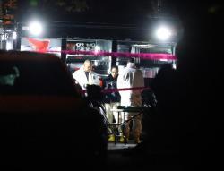 Las imágenes que dejó el tiroteo en un bar de Estados Unidos