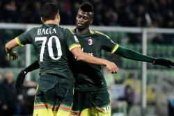 Vea el gol de Bacca en el triunfo del Milán sobre Palermo