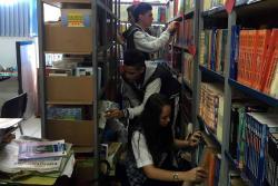 Alumnos piden apoyo para renovar biblioteca de colegio público en Bucaramanga