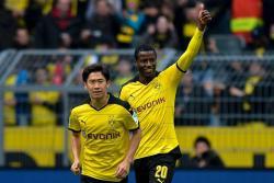Golazo de Adrián Ramos en victoria del Borussia Dortmund