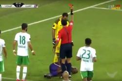 Descalificadora agresión contra futbolista colombiano en liga árabe