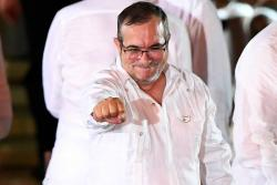 El susto de 'Timochenko' y las otras anécdotas de la firma de la paz en Cartagena