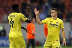 Rafael Santos Borré anotó para Villarreal en el empate ante Steaua Bucarest