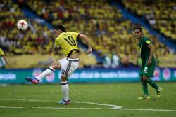 Vea el gol de James Rodríguez con el que Colombia venció a Bolivia