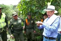 Entregan tierras a víctima del conflicto armado en Santander