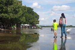 Videos retratan inundaciones en varios sectores de Barrancabermeja