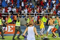 Periodistas deportivos de Bucaramanga protestaron por la decisión de la Dimayor