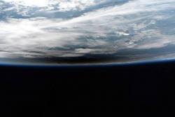 Astronautas se deleitaron al observar este fenómeno desde el espacio.