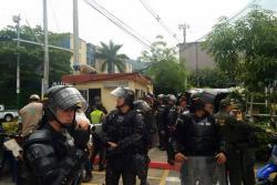 Esmad intervino para controlar desmanes en sector 20 de Bucarica en Floridablanca