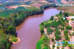 Tras alerta de sequía, así se ve la represa de Lebrija desde un drone