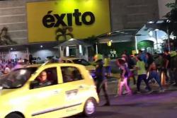 Disturbios entre supuestos hinchas del Atlético Bucaramanga y el Nacional dejaron dos heridos