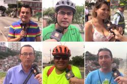 Una mirada diferente del día sin carro en Bucaramanga y el área
