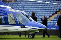 Video registró momento en que se estrelló el helicóptero del presidente del Leicester