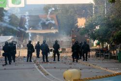 Video: Así quedó la UIS después de los graves disturbios del jueves