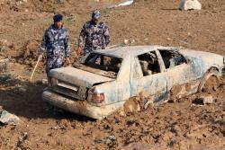 12 muertos y miles de evacuados dejaron inundaciones en Jordania