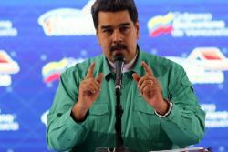 """Maduro pide que los colombianos le ayuden a """"combatir"""" campañas en su contra"""