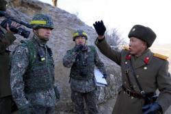 Las coreas eliminan los puestos de control en la zona desmilitarizada de la frontera