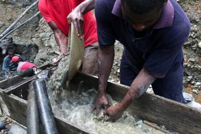 Los problemas de la minería