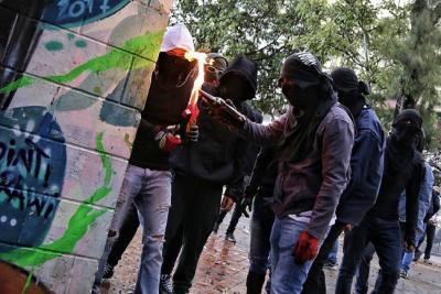 De la protesta social al vandalismo