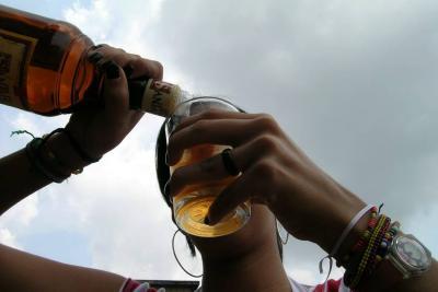 Consumo de alcohol sin control