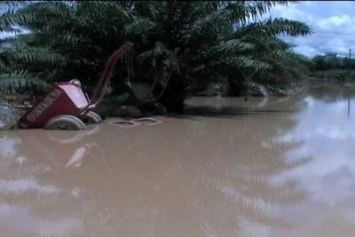 Tragedia anunciada: 45 mil hectáreas bajo el agua