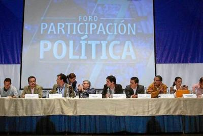 Después de la finalización del foro sobre la participación política de las Farc, se espera que el cierre del octavo ciclo de conversaciones en La Habana, Cuba, también termine con la discusión del primer punto de la agenda, el tema agrario.